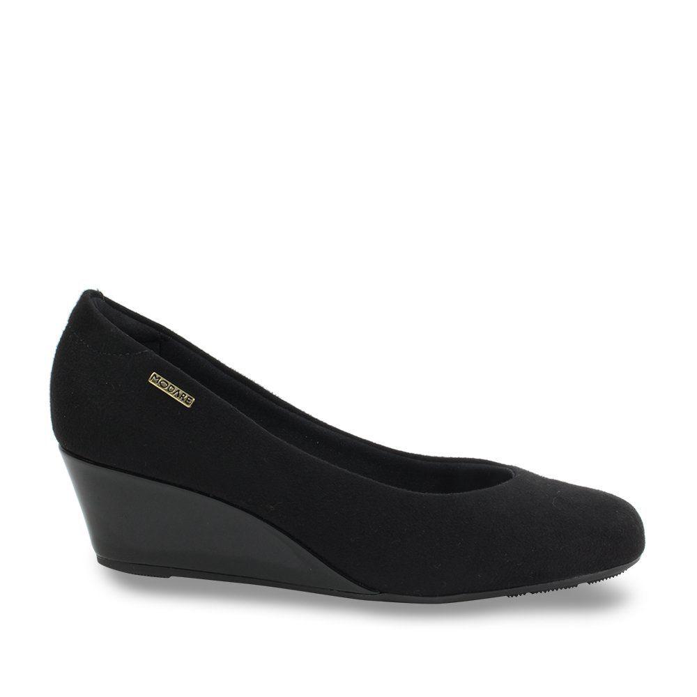 Sapato Anabela Modare 7324.100 - Preto