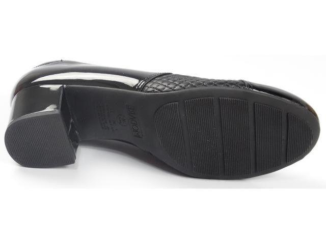 Sapato Salto Baixo Modare 7316.108 - Preto