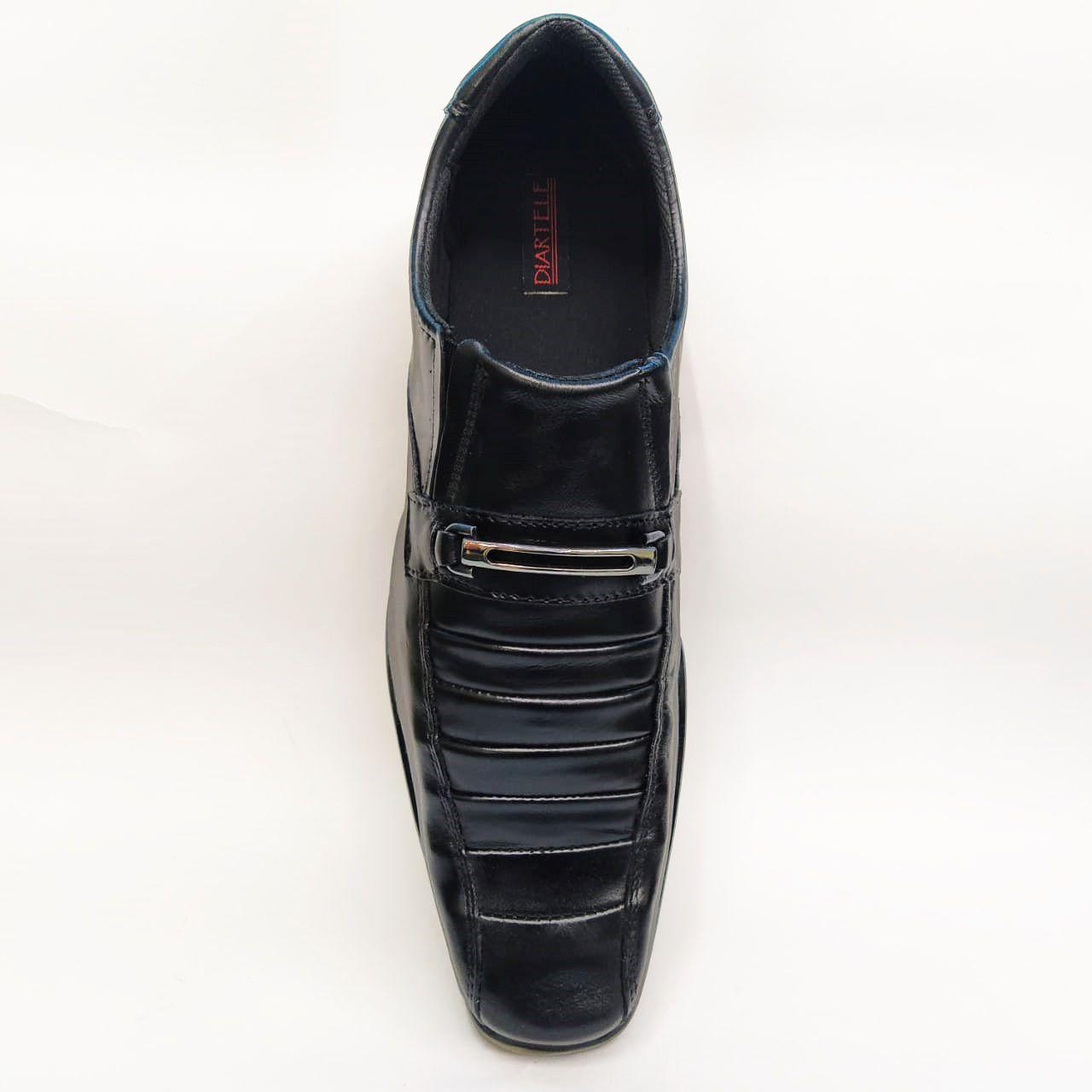 Sapato social em couro Diartele 4055 - Preto