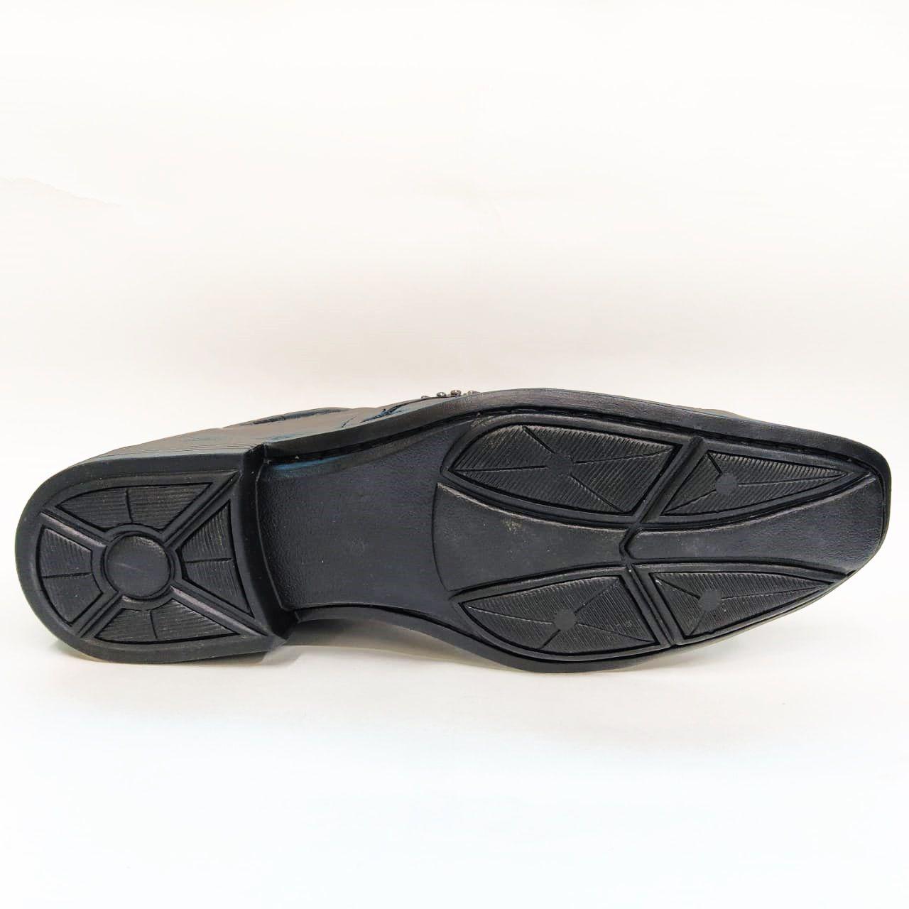 Sapato social em couro Frangarcia 573 - Preto
