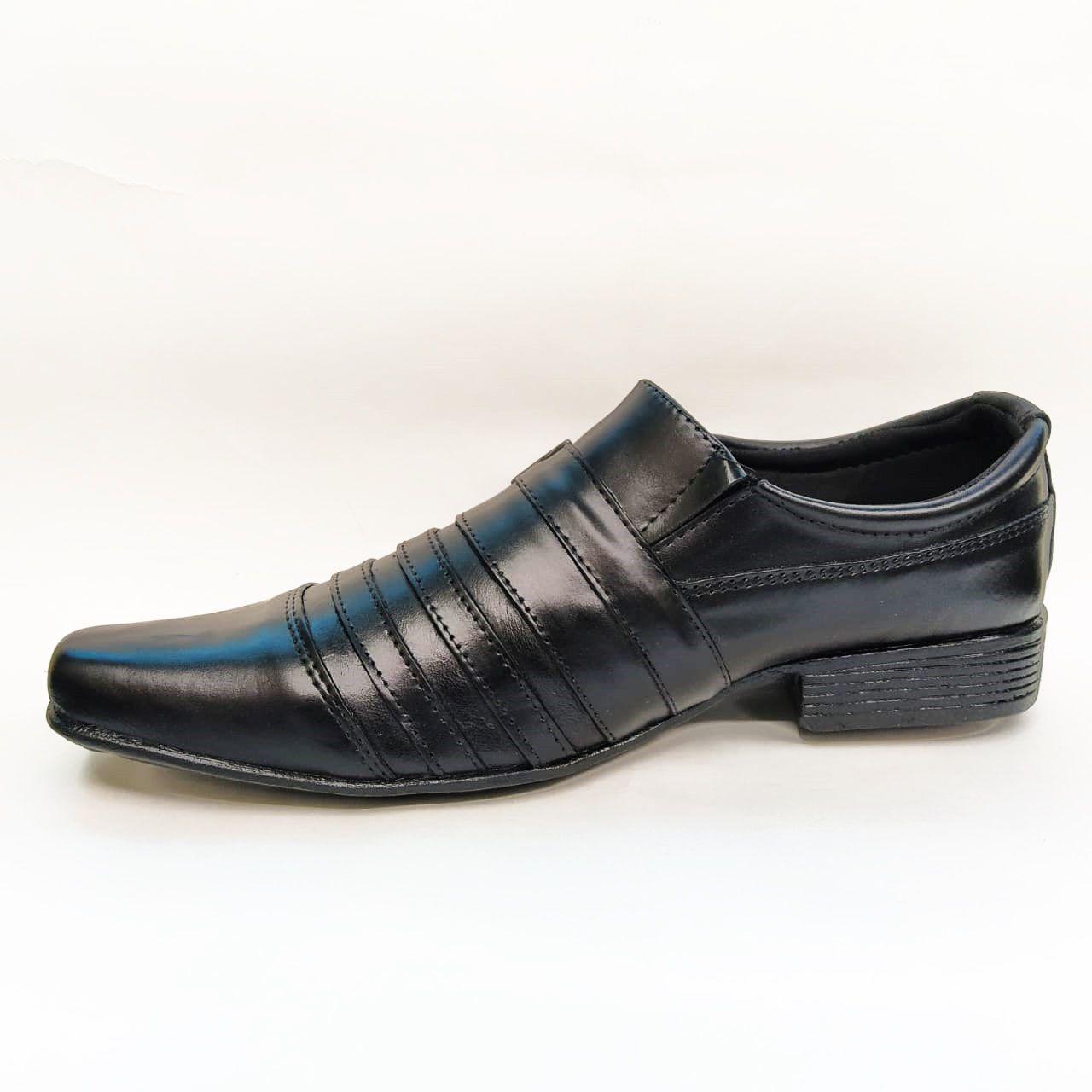 Sapato social em couro Frangarcia 574 - Preto