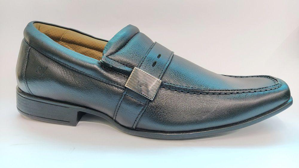 Sapato Social Masculino Conforto Rafarillo 6512 - Preto