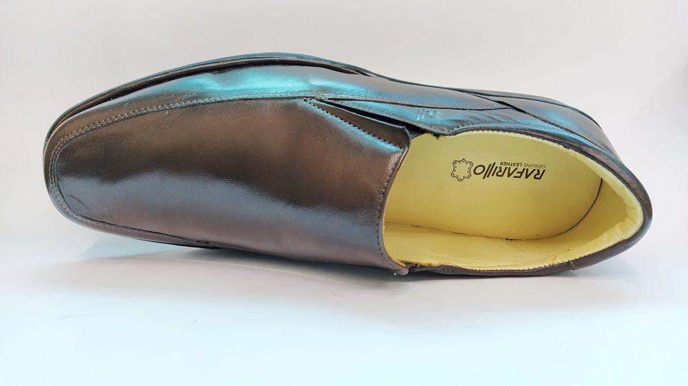 Sapato Social Masculino Conforto Rafarillo 8971 - Castanho