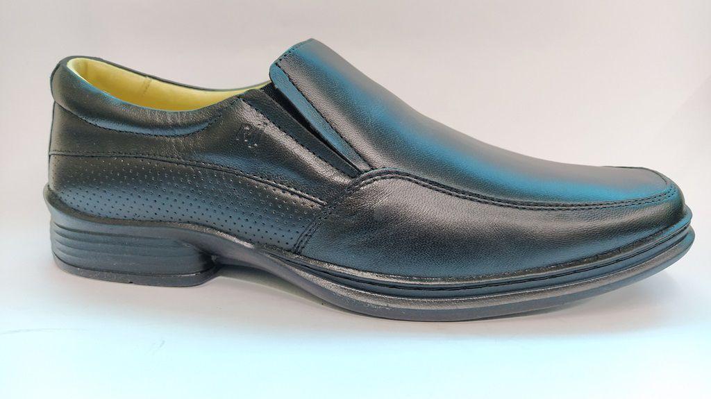 Sapato Social Masculino Conforto Rafarillo 9216 - Preto
