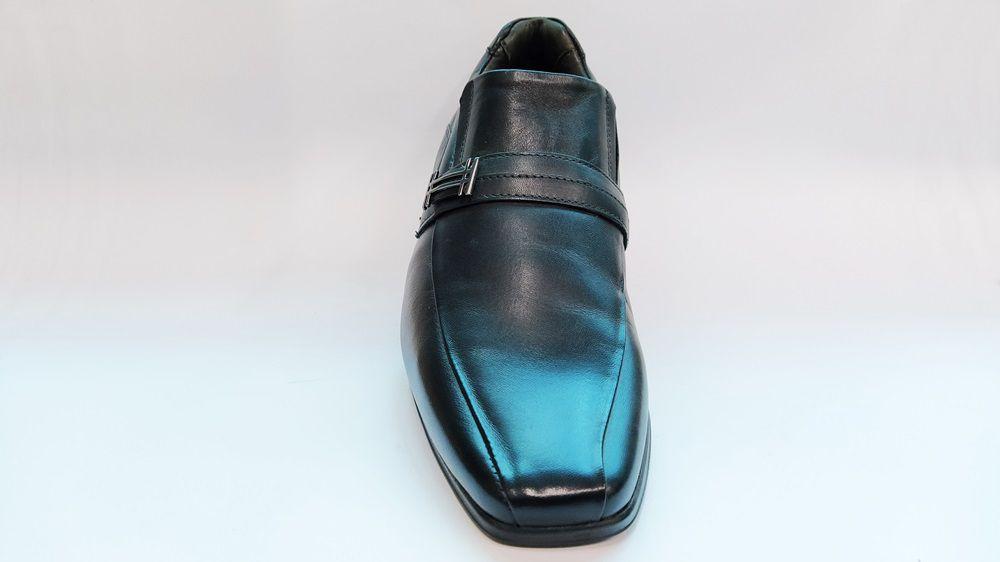 Sapato Social Masculino em Couro Rafarillo 32002 Duotech - Preto