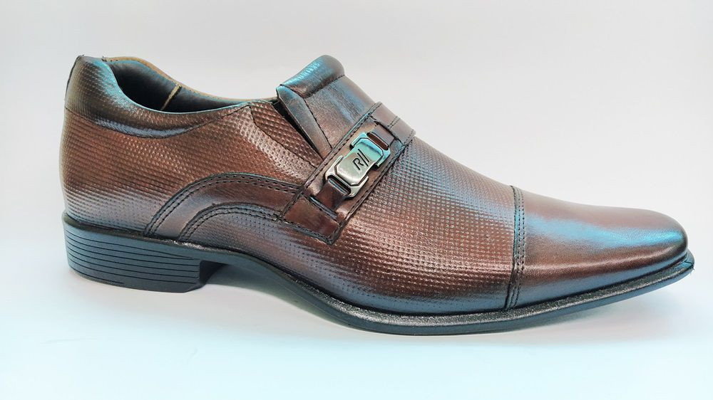 Sapato Social Masculino em Couro Rafarillo 34002 - Mogno