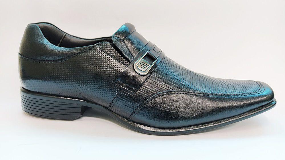 Sapato social em couro Rafarillo 34003 - Preto