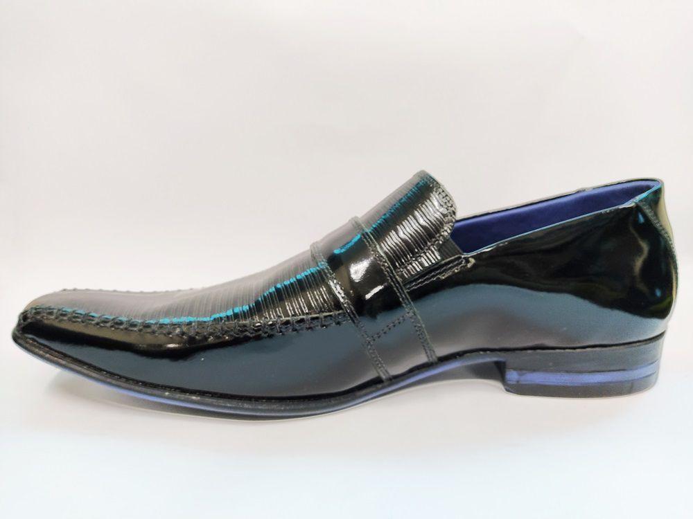 Sapato Social Masculino em Couro Rafarillo 6128 - Preto
