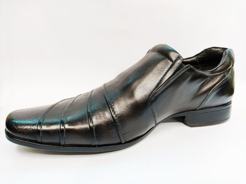 Sapato Social Masculino em couro Rafarillo 7924 - Café