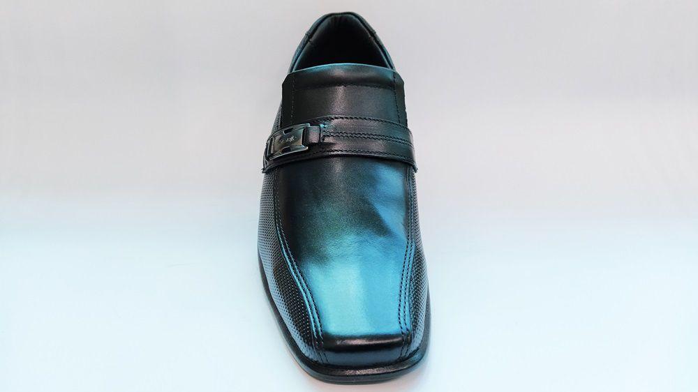 Sapato Social Masculino Números Especiais Rafarillo 34004 - Preto