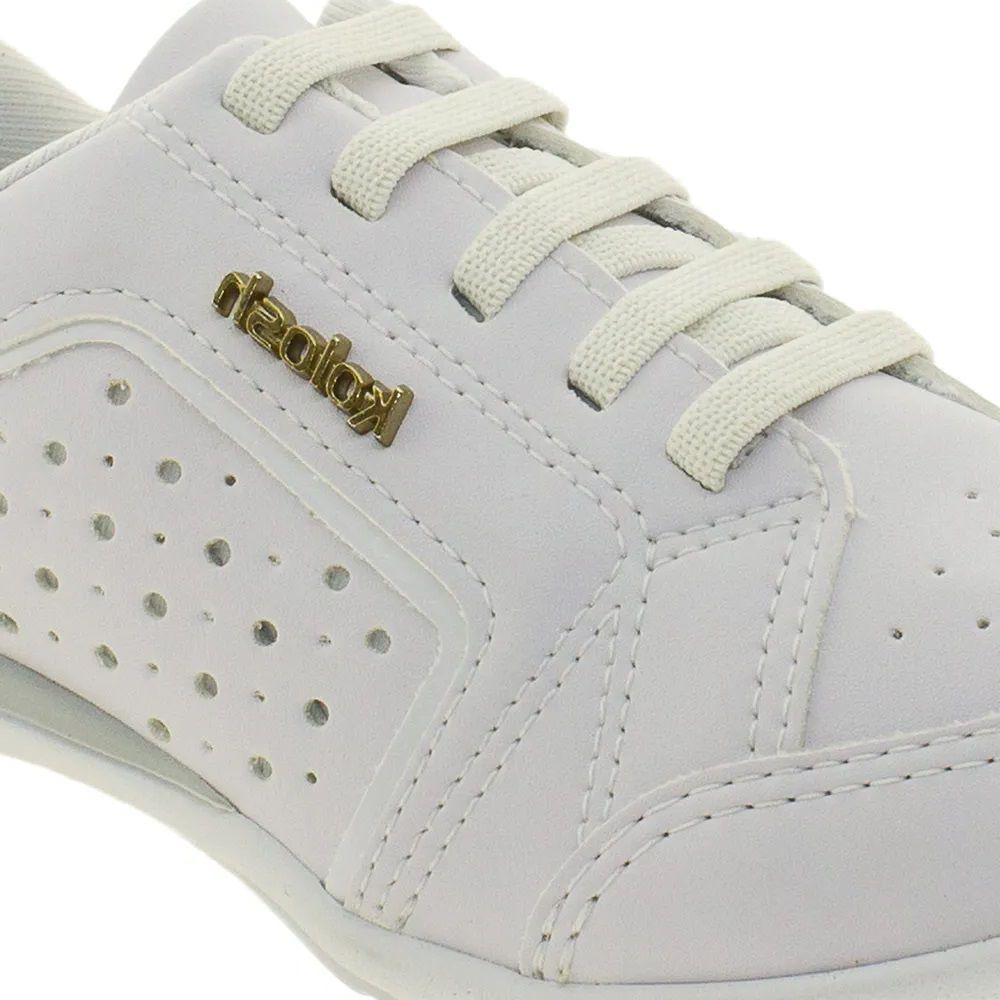 Tenis Casual Feminino Kolosh C0628A - Branco