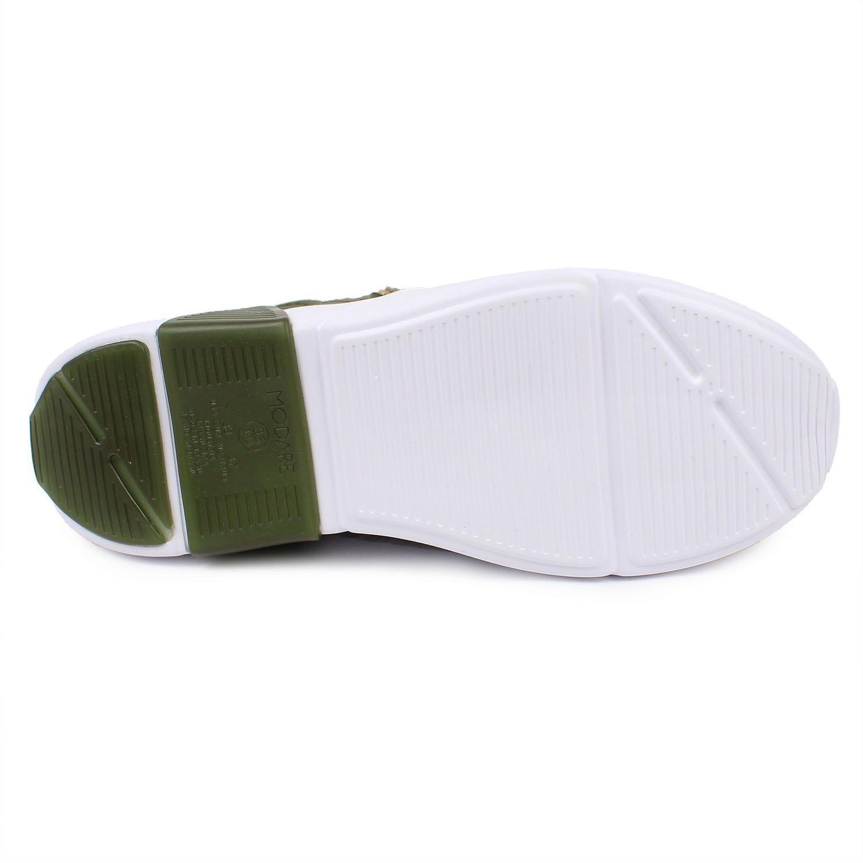 Tenis Feminino Impermeável Modare 7354.101 - Verde Militar