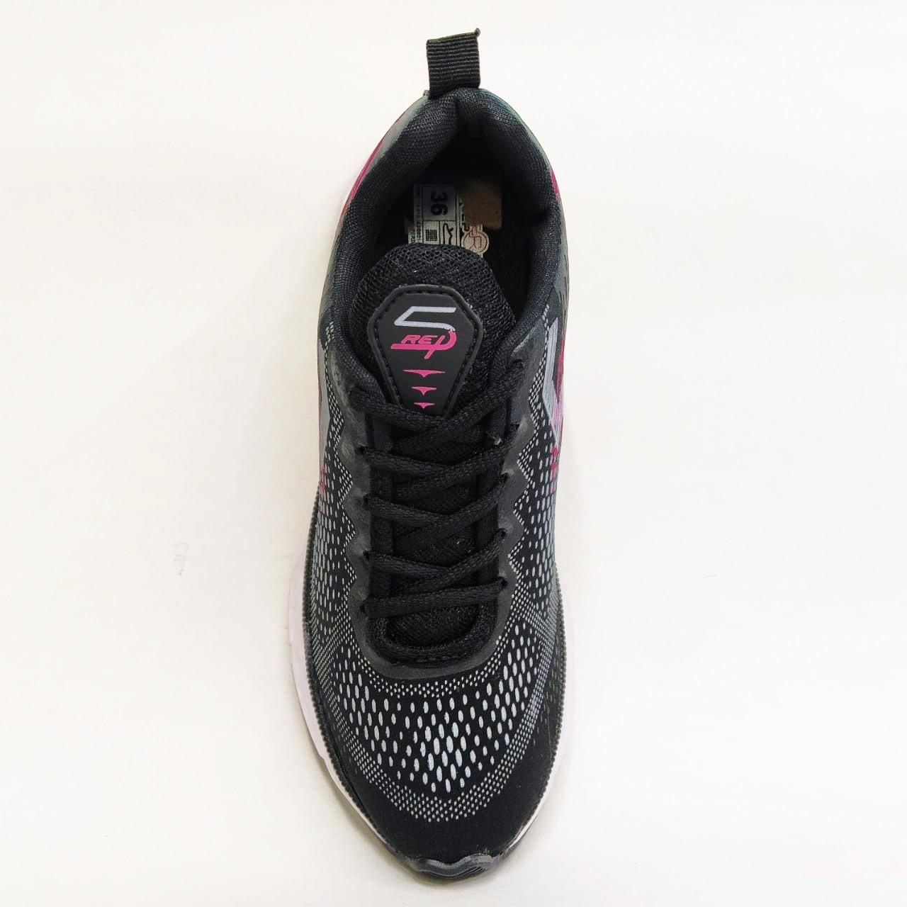 Tênis feminino Replay 18500-15 - Preto / Pink