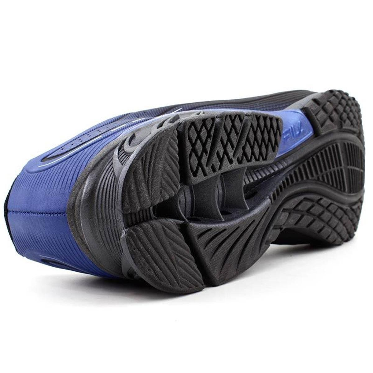 Tenis Masculino Fila Cage Python - Preto/Azul/Prata