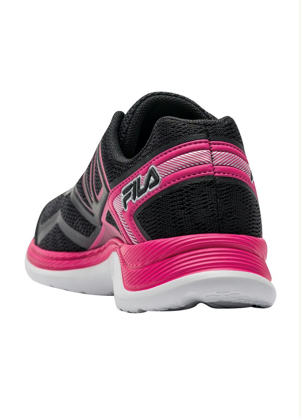 Tênis Fila Feminino Dashing - Preto / Pink