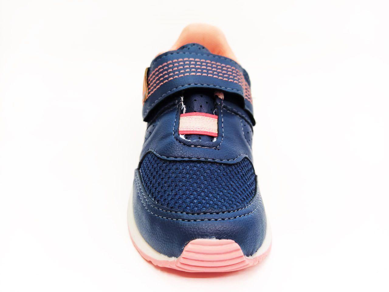 Tênis Infantil Feminino Camin 2704-479 - Mar / Coral
