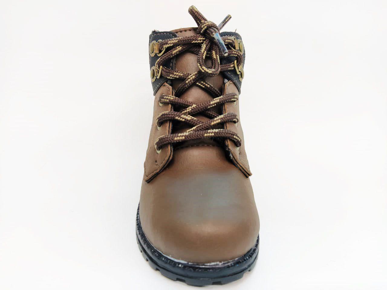 Tênis Infantil Masculino Camin 2258-975 - Chocolate