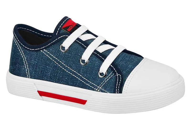 Tênis Infantil Masculino Molekinho 2136.212 - Jeans