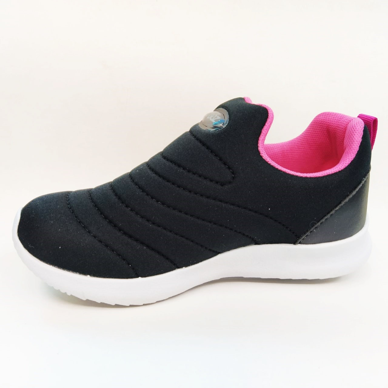 Tenis Juvenil Feminino Gibizinho B-274 - Preto/Pink