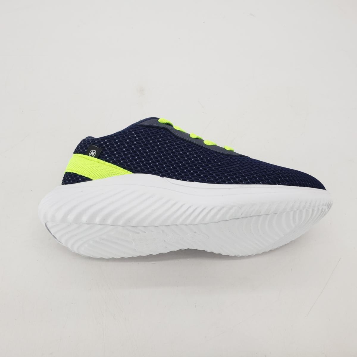 Tenis Juvenil Masculino Molekinho 2832.105 - Marinho/Neon