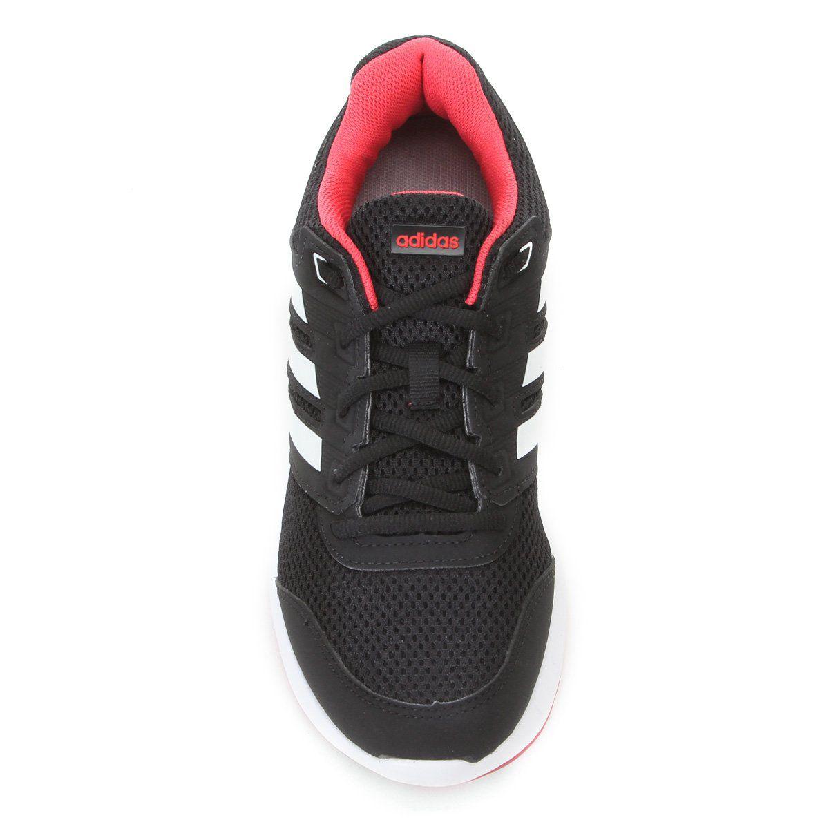 Tênis Masculino Adidas Duramo Lite 2 - Preto/Vermelho