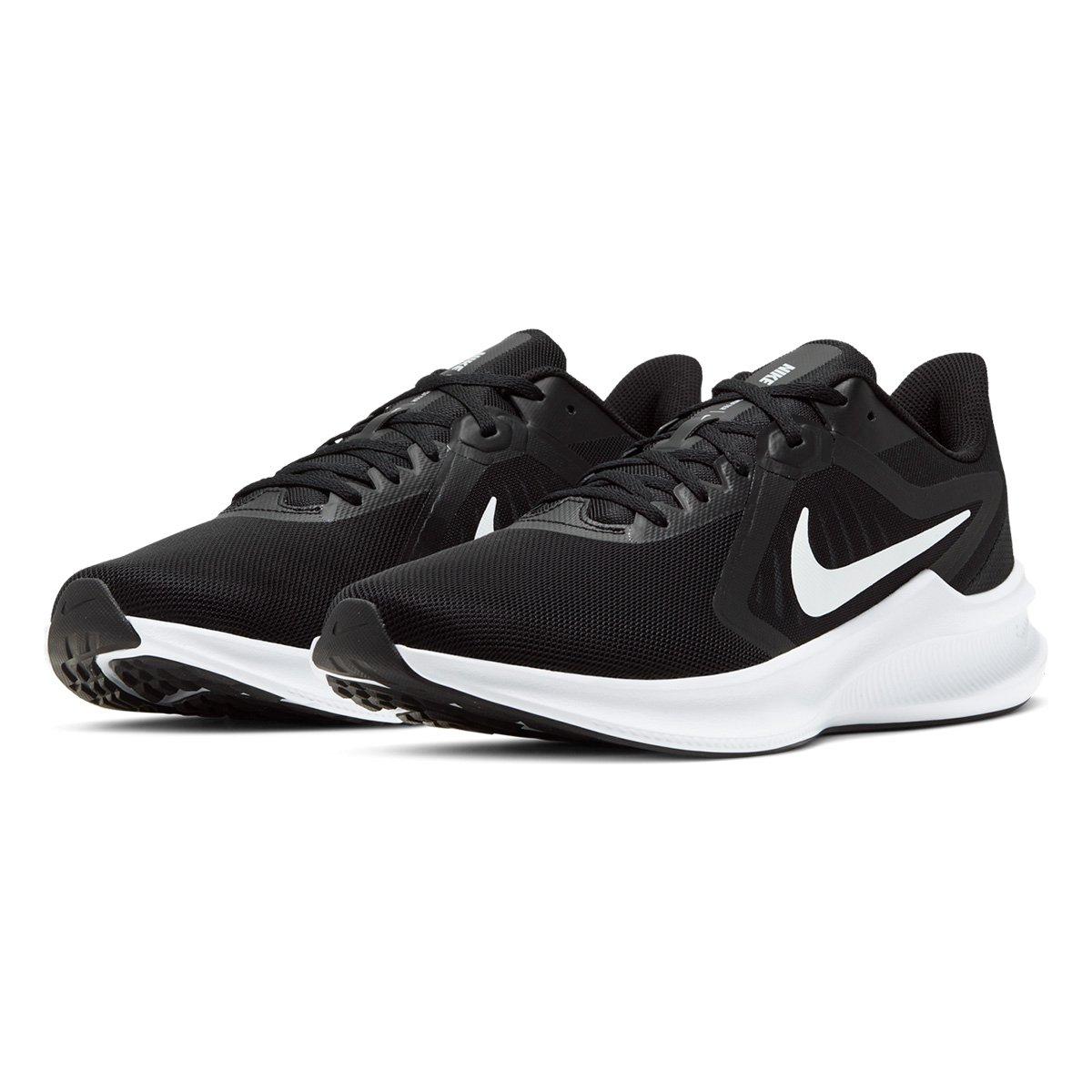 Tenis Masculino Nike Downshifter - Preto/Branco