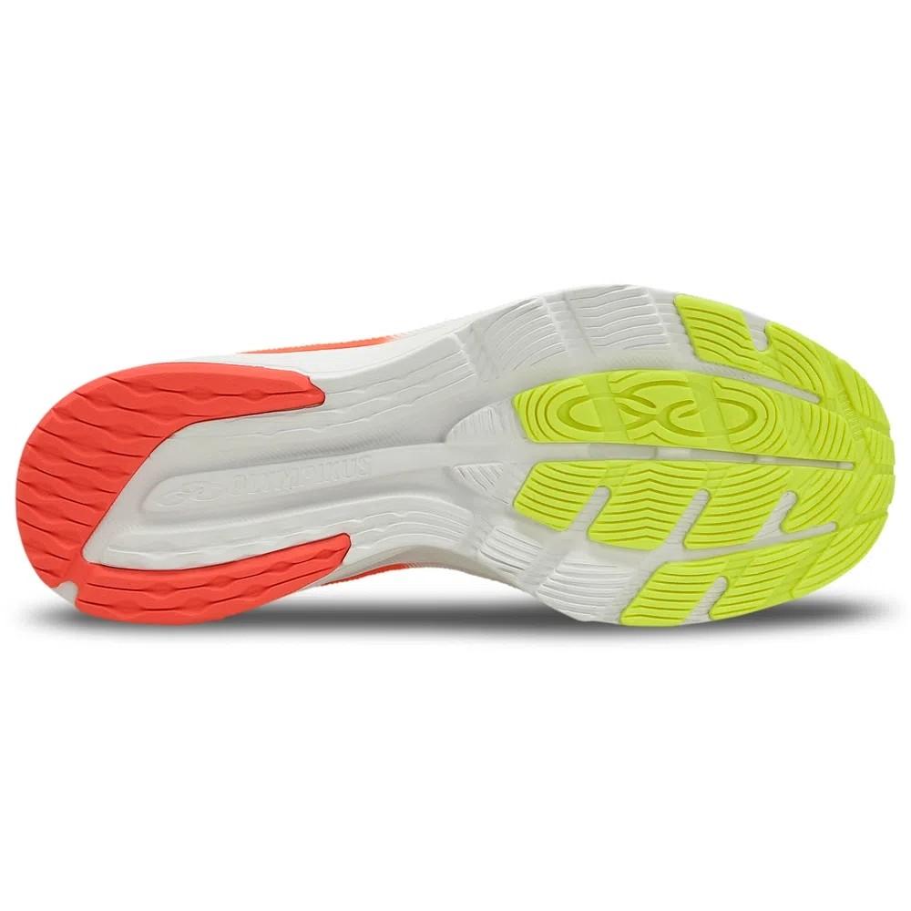 Tenis Masculino Olympikus Veloz - Chumbo / Limao