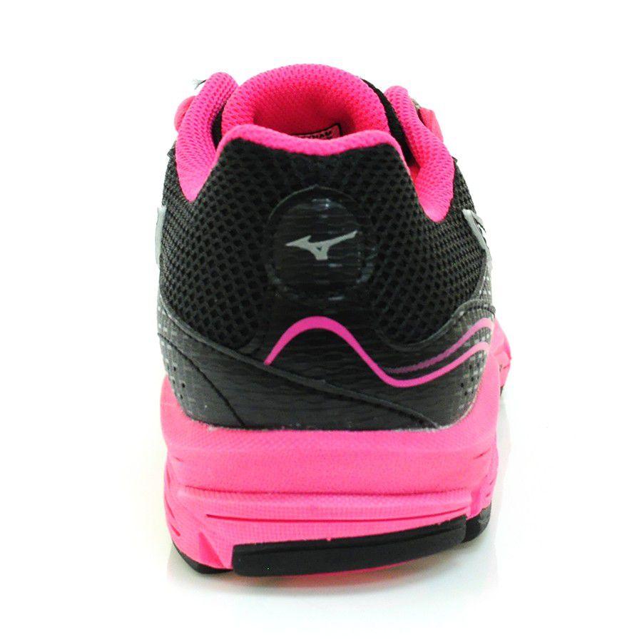 Tenis Feminino Mizuno Impetus 2 - Preto/Pink