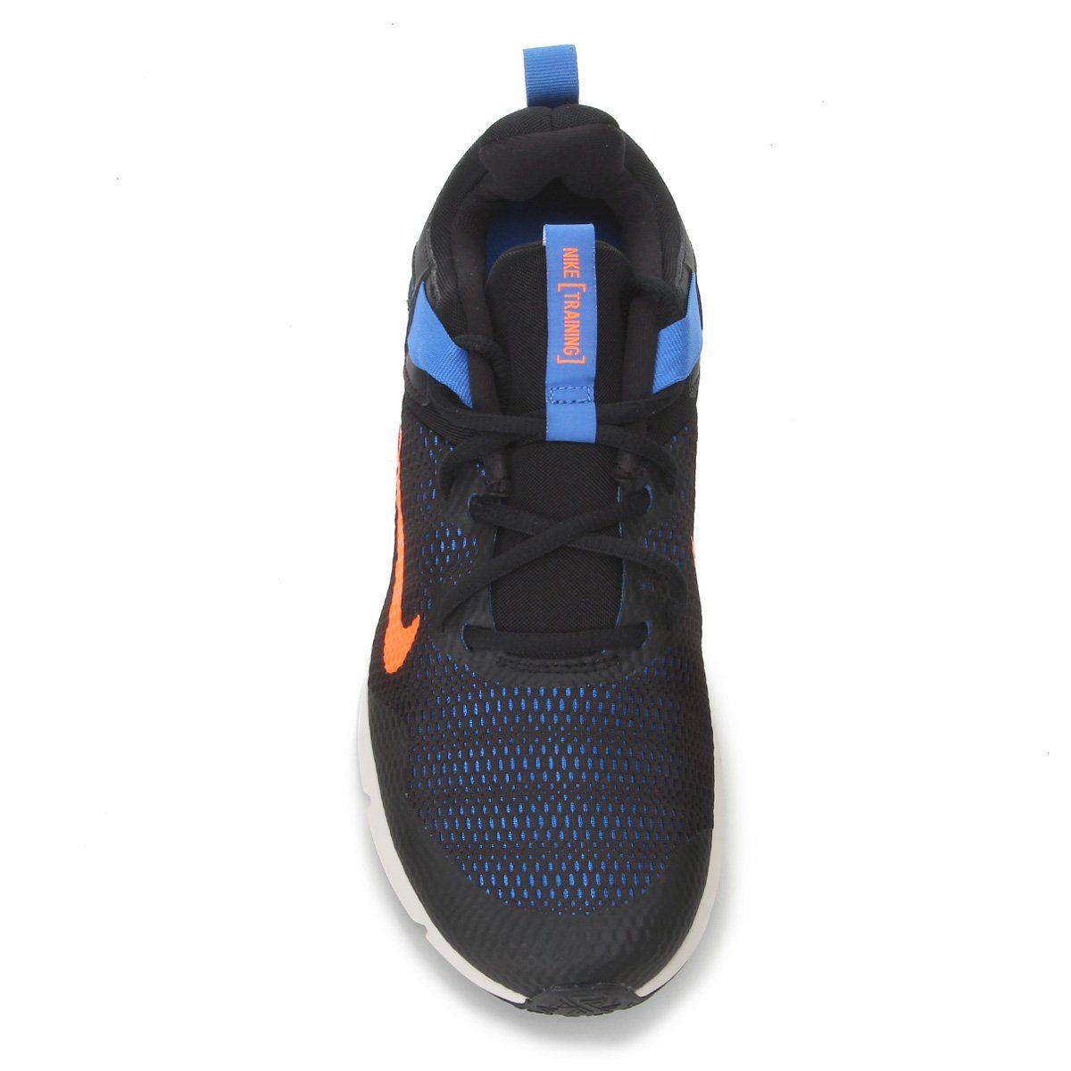 Tênis Nike Legend Essential - Preto / Laranja