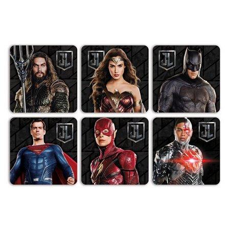 6 Porta copos Liga da Justiça
