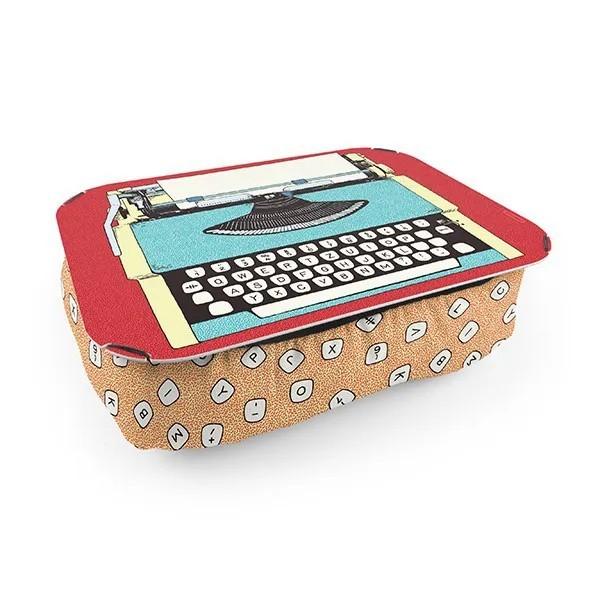Almofada Bandeja Maquina de Escrever