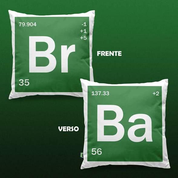 Almofada BR BA - Bromine Barium