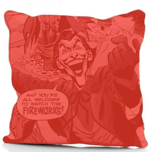Almofada Coringa Joker Fireworks Red