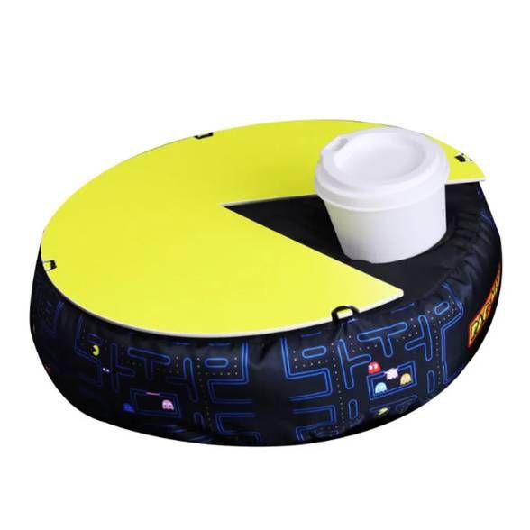 Almofada Bandeja de Colo Pac-Man