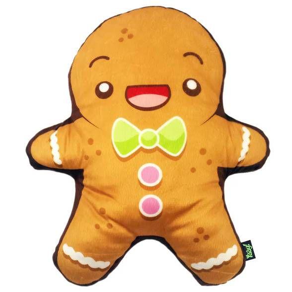Almofada de Pelúcia Biscoito de Natal