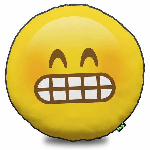 Almofada Emoticon - Emoji Super Feliz