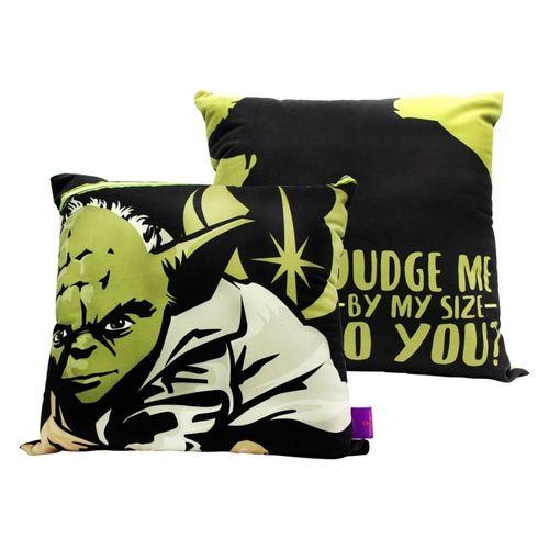 Almofada Fibra Mestre Yoda Star Wars