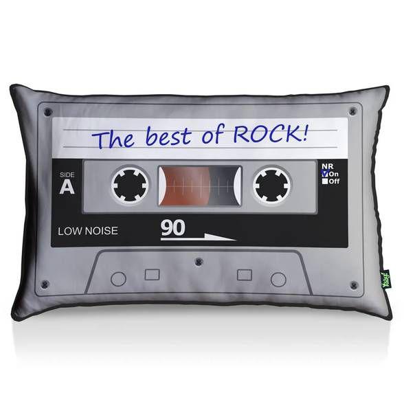 Almofada Fita Cassete Best Of Rock