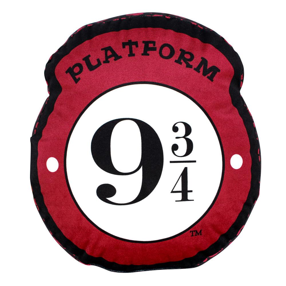 Almofada formato Plataforma 9 3/4 - Harry Potter