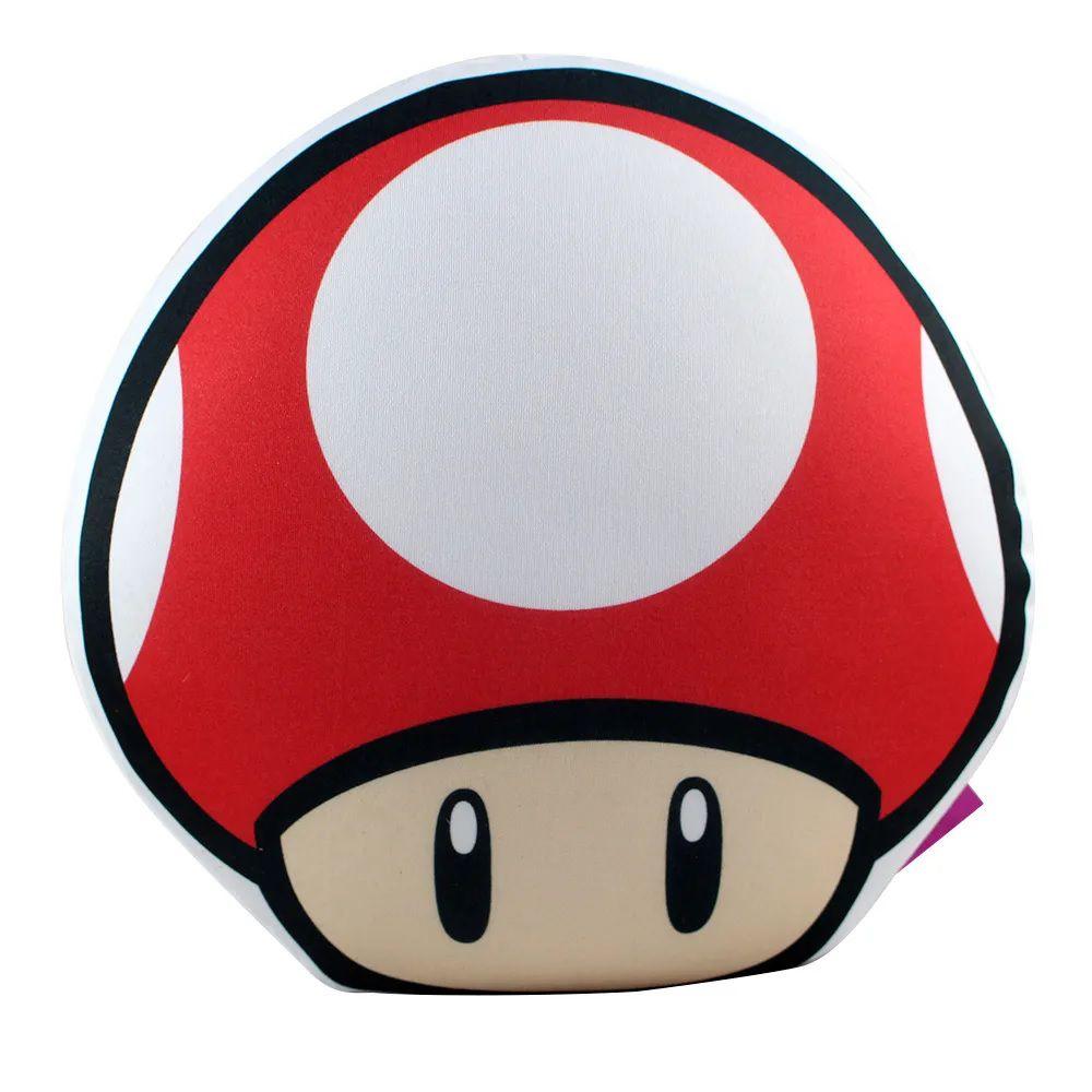 Almofada Formato Super Mario Cogumelo