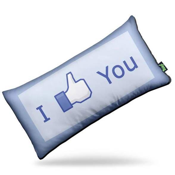 Almofada I Like You - Gosto de você