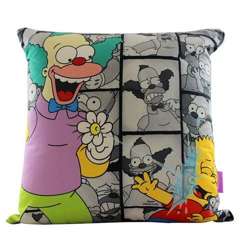 ALMOFADA KRUSTY E BART AMIGOS - Os Simpsons
