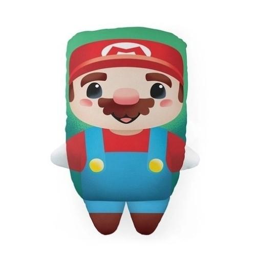 Almofada formato Mario Bros