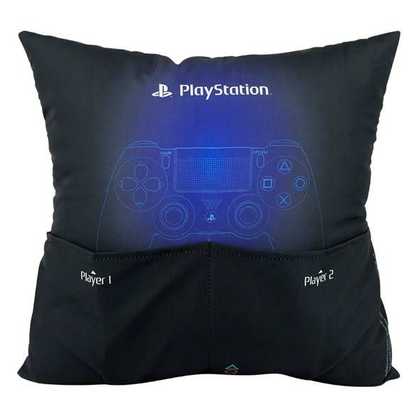 Almofada Porta Controle de VideoGame Play Station