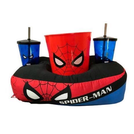 Almofada Porta Pipoca - Homem Aranha
