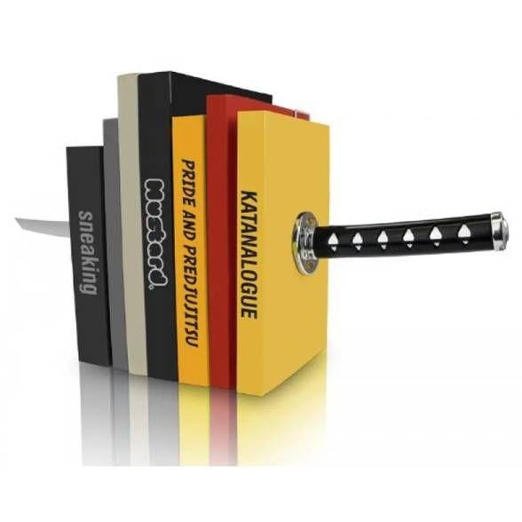 Aparador de Livros Espada Samurai