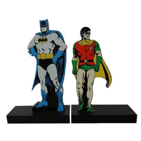 Aparador livro Batman e Robin