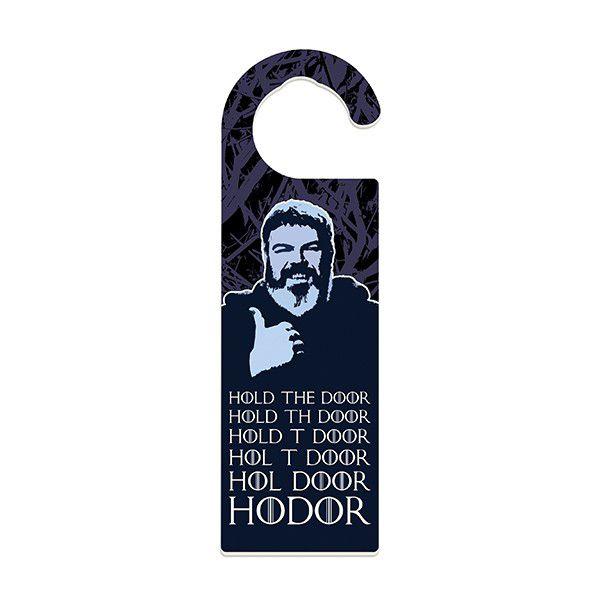Aviso de Porta Hodor