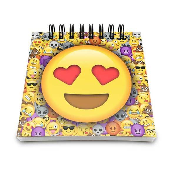 Bloco de Anotações Emoticon - Emoji Amor