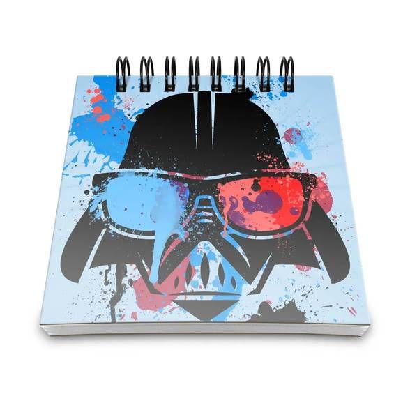 Bloco de Anotações Geek Side Vader